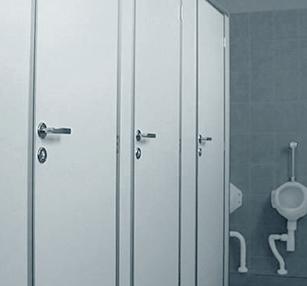 Sanitary cubicles