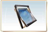 "Wooden gable window      66cm x 118cm ""F6A"""