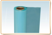 UV stabilized blue polyethylene film 200mk 6x60=360 sq.m.