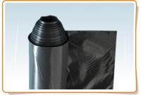 Black polyethylene film 200mk 6x60=360 sq.m.