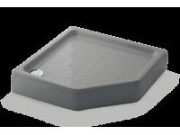Shower tray VAIVA (Gray)