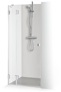 Shower doors with auxiliary wall for niches ANA PLIUS