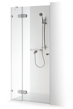 Shower doors with auxiliary wall for niches IEVA PLIUS